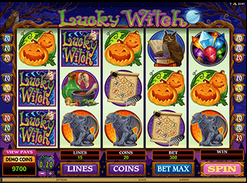 Бонусная игра Lucky Witch 4