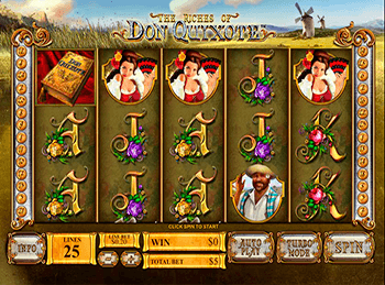 Бонусная игра The Riches Of Don Quixote 3