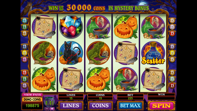 Бонусная игра Lucky Witch 2