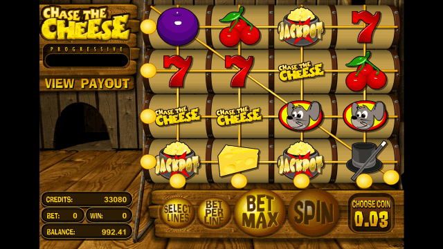 Характеристики слота Chase The Cheese 7