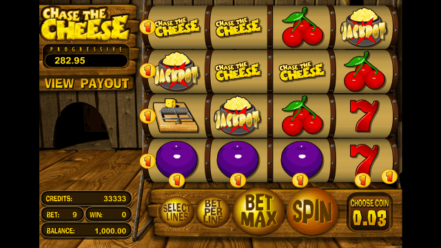 Бонусная игра Chase The Cheese 1