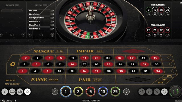 Бонусная игра French Roulette 4