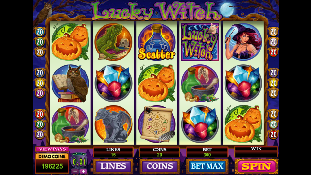 Бонусная игра Lucky Witch 5