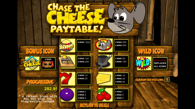 Бонусная игра Chase The Cheese 2