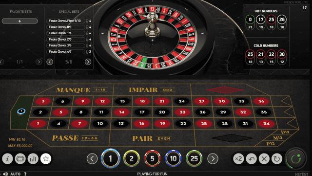 Бонусная игра French Roulette 8